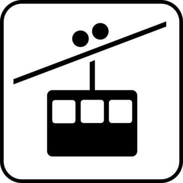 Ski Lift clip art