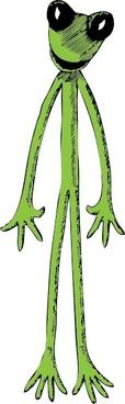Skinny Frog clip art