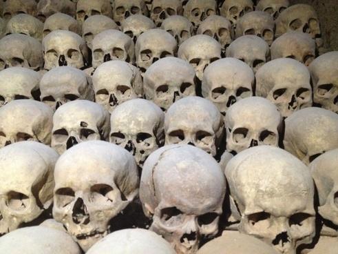 skull cranium charnel-house