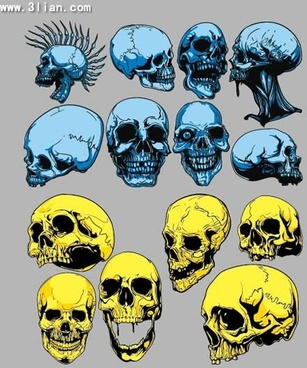 Skull free vector download (677 Free vector) for commercial use