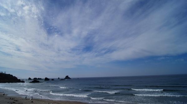 sky beach indian beach