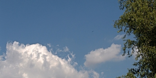sky blue cloud