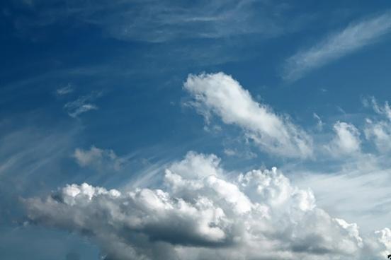 sky clouds blue skies