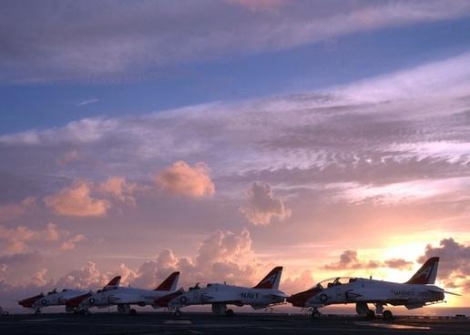 sky clouds planes