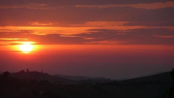 sky dawn morning