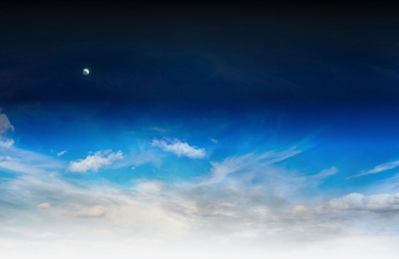 sky night space