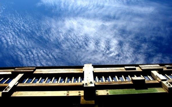 sky over the pier