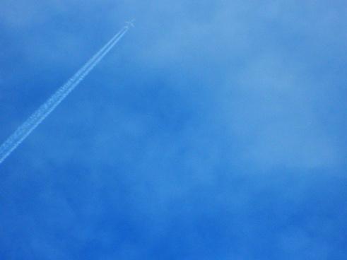 sky plane