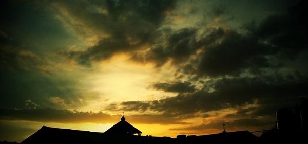 sky silhoutte skies