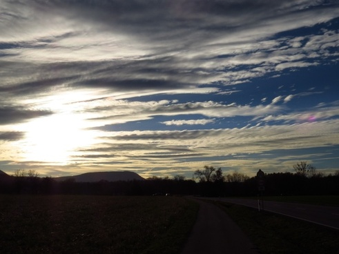 sky sunset mood