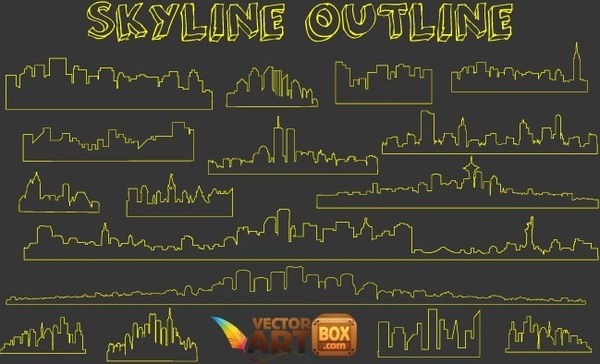 Skyline Outline