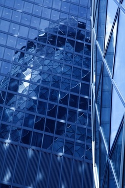skyscraper reflection