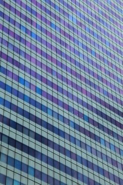 skyscraper windows
