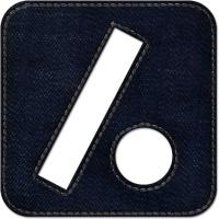 Slash dot square