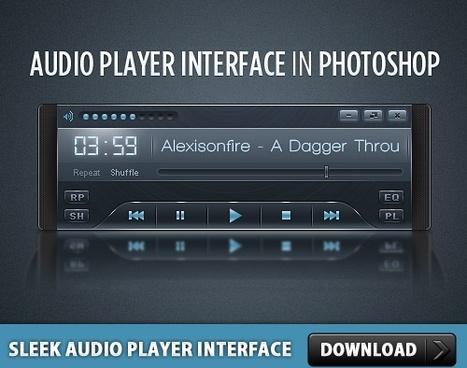 Sleek Audio Player Interface