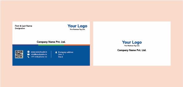 sleek business card cdr pdf ai