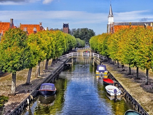 sloten the netherlands canal
