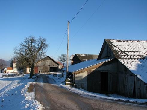 slovenia farm barn