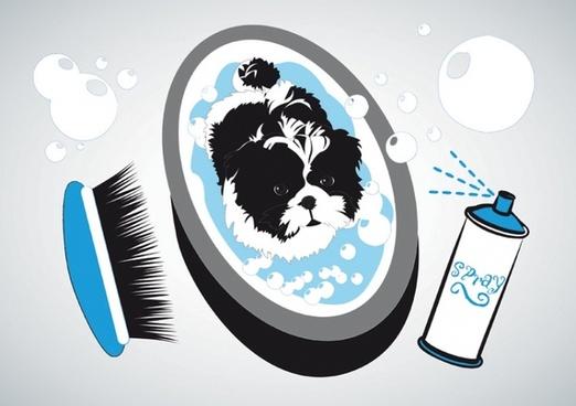 Small Dog Bath
