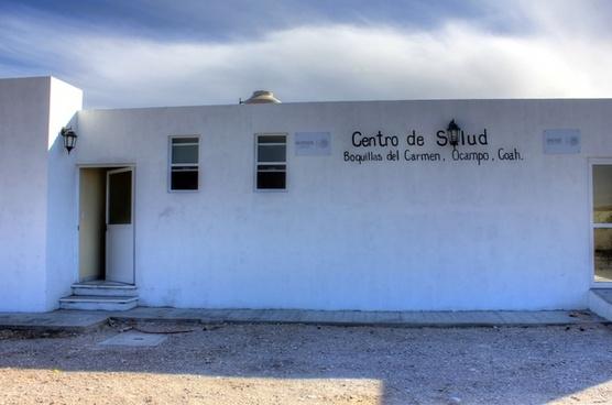 small hospital at boquilla del carmen coahuila mexico