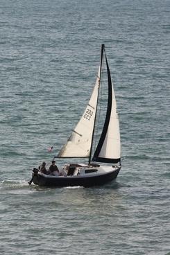 small sloop sailboat