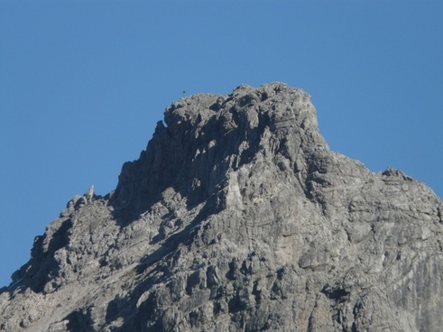 small wild summit summit cross