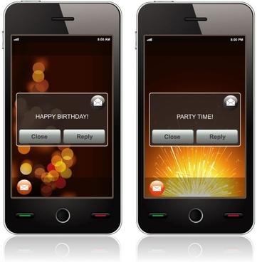 smart phone 01 vector