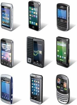 Smartphone Vector Set