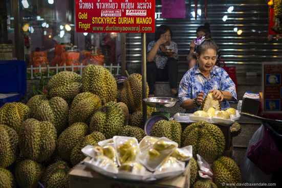 smelly durian fruit