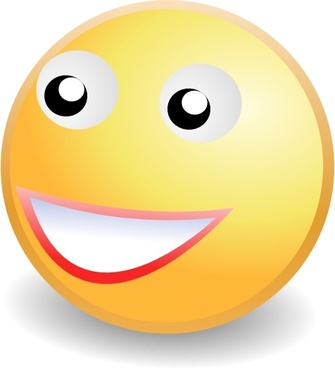 Smile Face clip art
