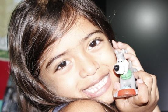 smile toy joy of child