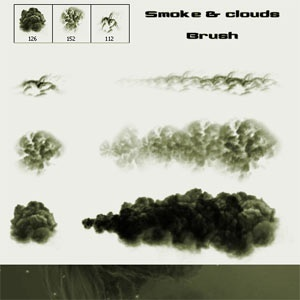 Smoke and Clouds Brush