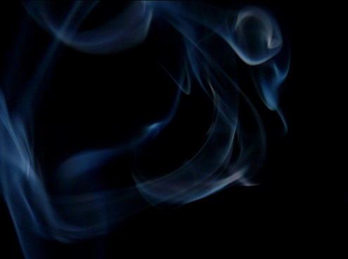 smoke blue black