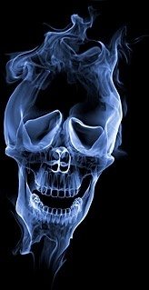 smoke skull picture