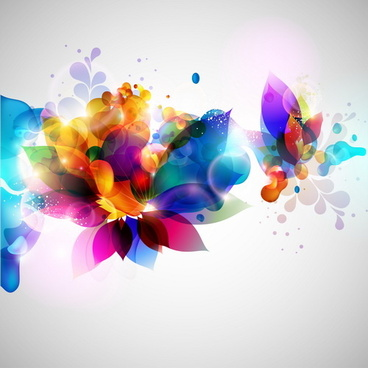 smooth and colorful design background vector