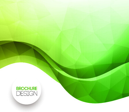 smooth and colorful wave background vector