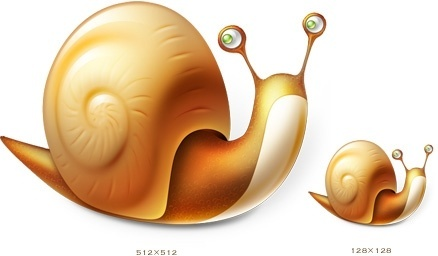 snail icon icons pack