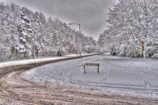 snow basingstoke hampshire