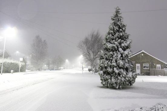 snow cold winter
