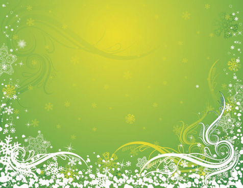 snow decorative pattern background art vector