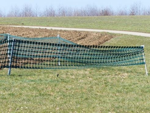 snow fence fence arable