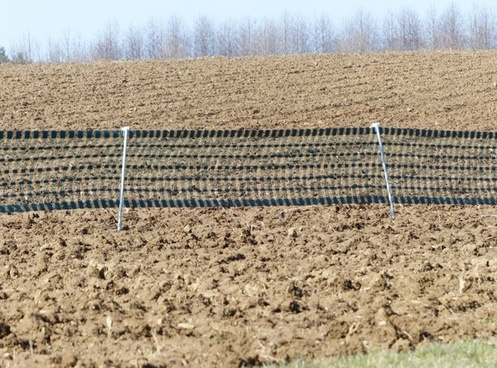 snow fence fence arable