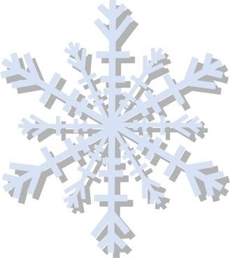Snow Flake clip art