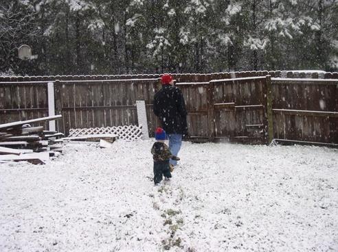 snow husband hunter