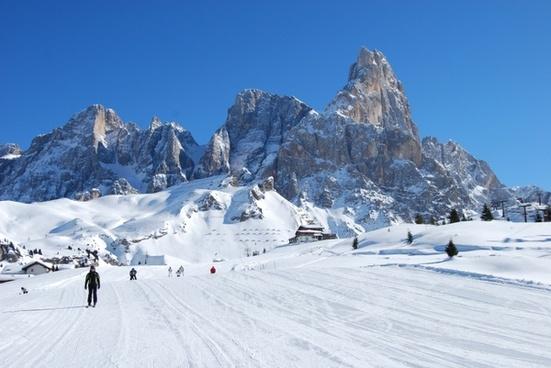 snow mountain mountains