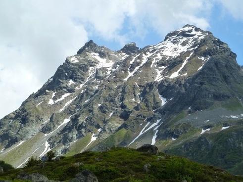 snow mountain silvretta