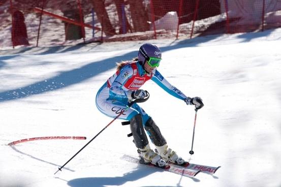 snow ski sarka zahrobska