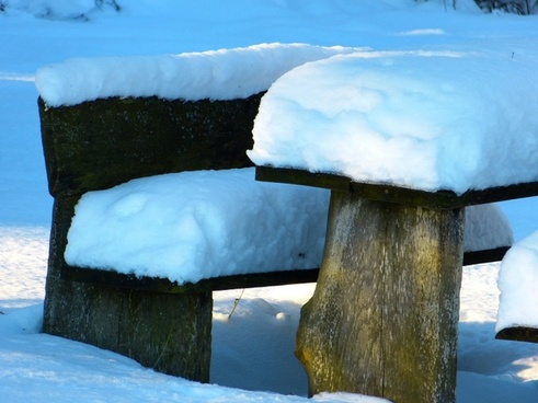 snow snowy bank