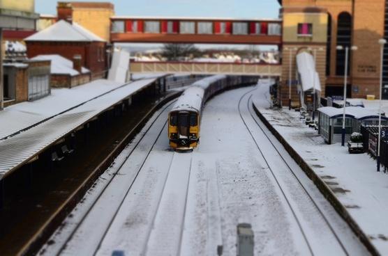 snow train station