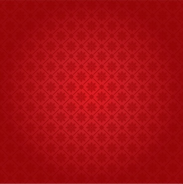 decorative pattern red flat repeating snowflakes decor